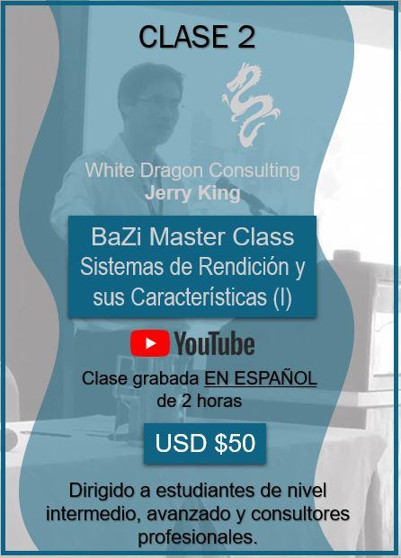 BaZi Master Class Sistemas de Rendición y sus Caracteríticas (I)